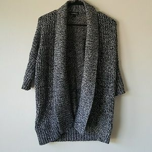 Express knitted heathered cardigan